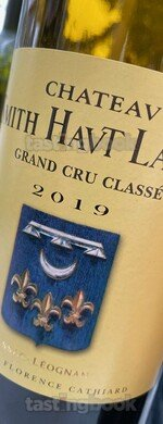 Red wine, Château Smith Haut Lafitte 2019