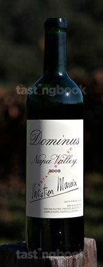 Red wine, Dominus 2008