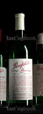Red wine, Grange Hermitage 1978