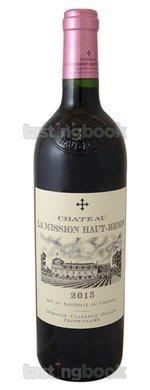 Red wine, La Mission Haut Brion 2015