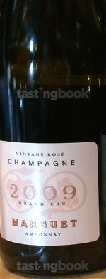 Sparkling wine, Rosé Grand Cru Vintage 2009