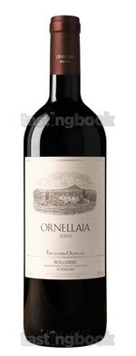 Red wine, Ornellaia 2005