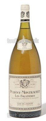 White wine, Puligny-Montrachet Les Folatières 2010