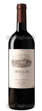 Red wine, Ornellaia 2004