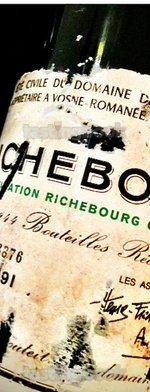 Red wine, Richebourg 1991