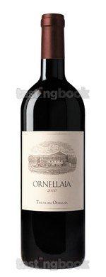 Red wine, Ornellaia 2000