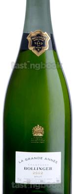 Sparkling wine, La Grande Année 2002