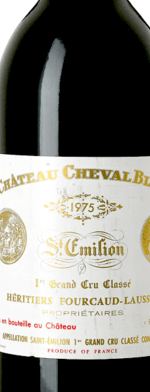 Red wine, Cheval Blanc 1975