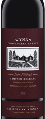 Red wine, John Riddoch Cabernet Sauvignon 2005