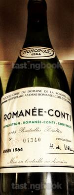 Red wine, Romanée Conti 1964
