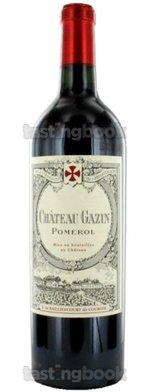 Red wine, Château Gazin 2012