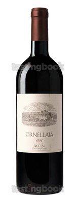 Red wine, Ornellaia 1995