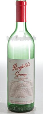 Red wine, Grange Hermitage 1997