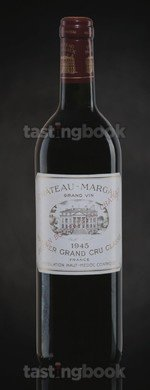 Red wine, Château Margaux 1945