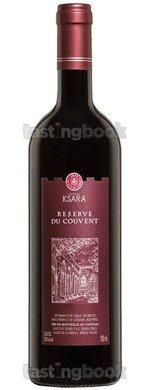 Red wine, Château Ksara Reserve du Couvent 2016