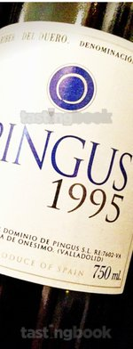 Red wine, Pingus 1995