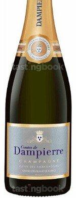 Sparkling wine, Cuvée des Ambassadeurs Blanc de Blancs Grand Cru NV (10's)
