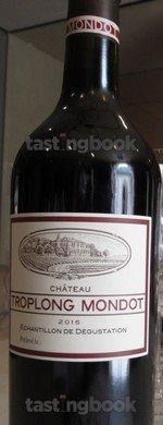Red wine, Château Troplong-Mondot 2015