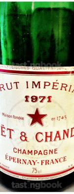 Sparkling wine, Brut Impérial 1971