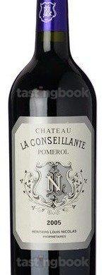 Red wine, Château La Conseillante 2005