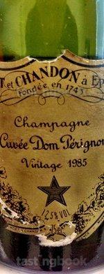 Sparkling wine, Dom Pérignon 1985