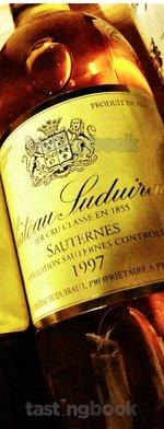 Sweet wine, Château Suduiraut 1997