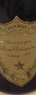 Sparkling wine, Dom Pérignon 1952
