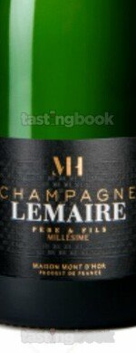 Sparkling wine, Lemaire Millésime 2008