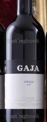 Red wine, Barolo Sperss 1997