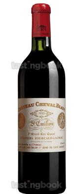 Red wine, Cheval Blanc 1955