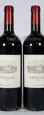 Red wine, Ornellaia 2001