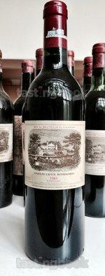 Red wine, Lafite-Rothschild 1985