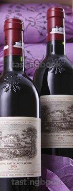 Red wine, Lafite-Rothschild 1998