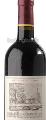 Red wine, Château Duhart-Milon Rothschild 2005