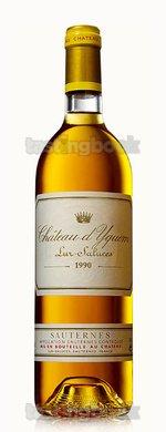 Sweet wine, d'Yquem 1990