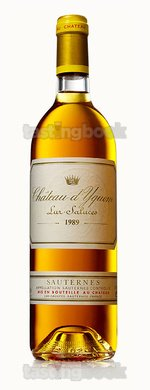 Sweet wine, d'Yquem 1989