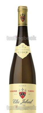 Red wine, Pinot Gris Clos Jebsal Vendange Tardive V.V 2015