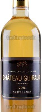 Sweet wine, Château Guiraud 2005