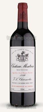 Red wine, Montrose 1989
