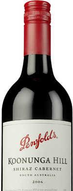 Red wine, Koonunga Hill Cabernet Shiraz 2006