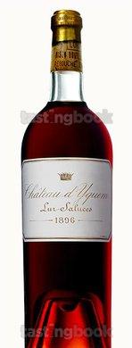 Sweet wine, d'Yquem 1896