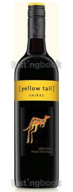 Red wine, Yellow Tail Shiraz 2013