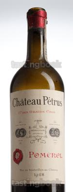 Red wine, Pétrus 1928