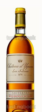 Sweet wine, d'Yquem 1976