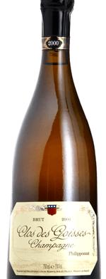 Sparkling wine, Clos des Goisses 2000