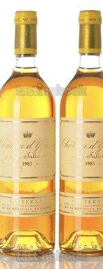 Sweet wine, d'Yquem 1983