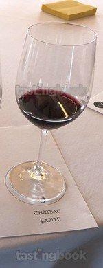 Red wine, Lafite-Rothschild 2017
