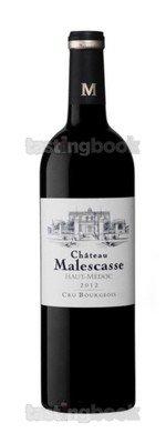 Red wine, Château Malescasse 2015