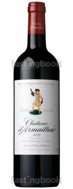 Red wine, Château D´Armailhac 2009