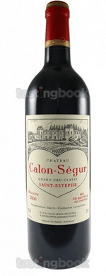 Red wine, Château Calon Ségur 2000